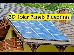 3D Solar Panels Blueprints - DIY 3d Solar Panels - YouTube