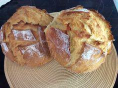 Φτιάξε ψωμί χωρίς μαγιά (με σόδα) σε μισή ώρα με μόλις 5 υλικά. Bread Rolls, French Toast, Muffin, Cookies, Baking, Breakfast, Desserts, Recipes, Homemade Breads