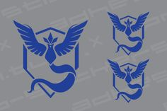 Pokemon Go Team Logo MYSTIC Vinyl Decal Sticker