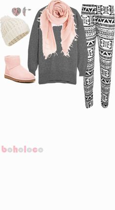 Winter Rose | Stylish Winter Fashion Outfits for Teens