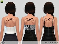- New beautiful infinity tattoos for your female sims!  Found in TSR Category 'Sims 4 Female Tattoos'