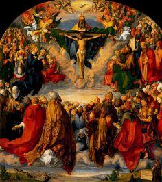 La adoración de la Trinidad (1511) Alberto Durero