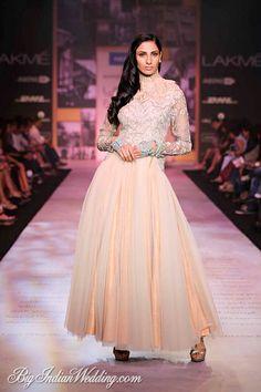 Shantanu Nikhil Lakme Fashion Week 2014 Coctail & elfin dress <3