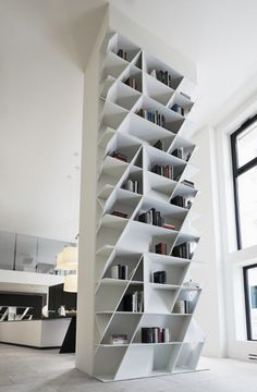 WEB Bookcase for Poliform Varenna Daniel Libeskind 2014