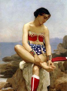 Modern Renaissance Superhero Designs: Altered Art @Nicole Warne-McGraw @Monica E