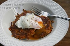 Kumara Hash Cakes with a Poached Egg | Healthy Eating on a Student Budget