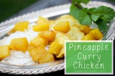 Pineapple curry chicken -- ATK - From Ask Anna