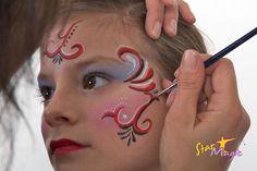 Spaanse prinses schminken | Stap-voor-stap Spaanse prinses schminken  Face Painting .. schminken ..   bsafoto.com