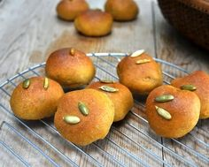 Light 'n' Fluffy Whole-Grain Bread, whole grain yet soft and tender like so many people love. My go-to recipe for whole-grain mini rolls, sandwich buns and bread loaves. Colored with a touch of pumpkin, very forgiving and flexible. Recipe, tips, WW points at Kitchen Parade.
