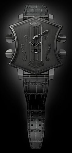 ♂ watch black ArtyA Son of Sound guitar shaped watch to debut at Baselworld 2013