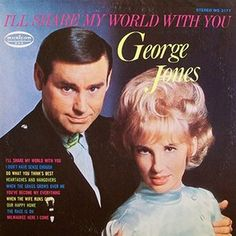 George Jones I'll Share My World With You – Knick Knack Records