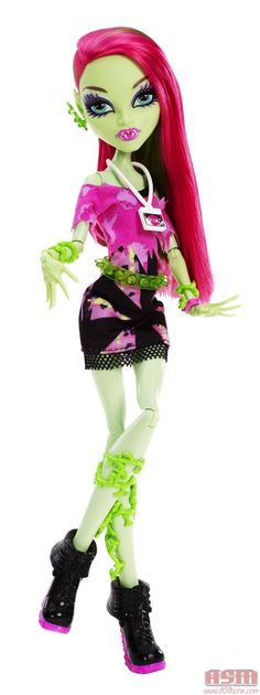 """Music Festival Venus. According to Mattel: """"Venus McFlytrap™ doll with her hip """"plunk"""" (that would be plant meets punk) attitude and dress"""" These are outfits that celebrate music of the sixties."""