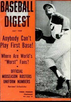 baseball digest covers   Baseball Digest - July 1959