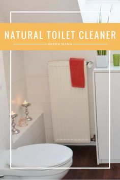 Homemade Toilet Cleaner | DIY Toilet Cleaner | All Natural Toilet Cleaner | Toxic Free Toilet Cleaner | Natural Home Cleaning