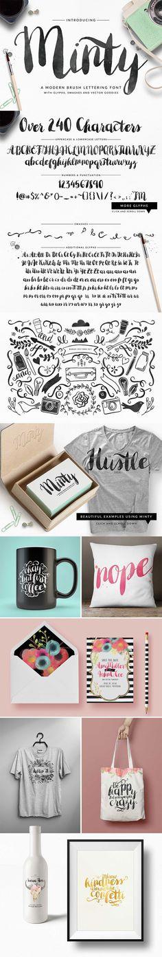 41 Fresh Fonts for 2016 (Plus Bonus Vectors & More) - Only $39 | MyDesignDeals