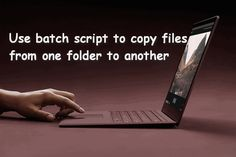 The batch script can help you copy files from one folder to another automatically and retain the permissions. Batch File, Windows System, File Folder, Filing, Script, Create, News, Script Typeface