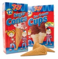 Joy Ice Cream Cones Coupon = As Low as 45¢ At Walmart! (Gluten-Free Variety Available)