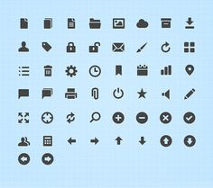 20 Free Professional Icon Sets For Download
