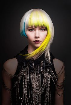 Add a pop of color to your style with fusion hair extensions. Contact your stylist today!