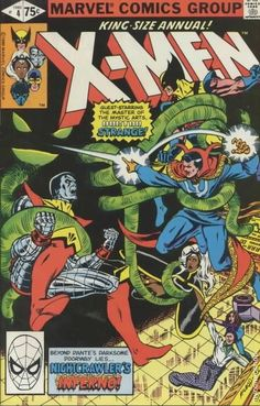 Uncanny X-Men Annual #4  Cover art by John Romita Jr. and Bob McLeod