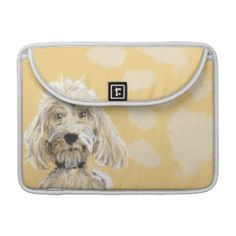 Labradoodle Dog Macbook Sleeve Personalized Backround Sleeve For MacBooks