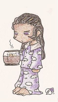 Xaldin in the morning-Hahhahaha! An entire pot of coffee XD