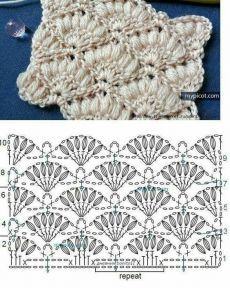 Watch This Video Beauteous Finished Make Crochet Look Like Knitting (the Waistcoat Stitch) Ideas. Amazing Make Crochet Look Like Knitting (the Waistcoat Stitch) Ideas. Gilet Crochet, Crochet Motifs, Crochet Flower Patterns, Crochet Diagram, Crochet Stitches Patterns, Tunisian Crochet, Crochet Chart, Love Crochet, Crochet Flowers