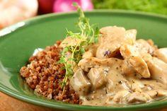 Przepis na Kurczak w potrawce z grzybów
