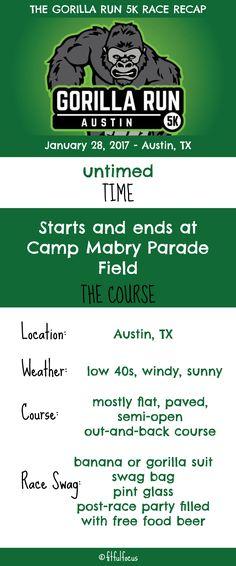 Austin Gorilla Run 5K Race Recap | Wild Workout Wednesday | Austin Races | Fun Runs | Race Costumes http://fitfulfocus.com/austin-gorilla-run-race-recap/?utm_campaign=coschedule&utm_source=pinterest&utm_medium=Fitful%20Focus&utm_content=Austin%20Gorilla%20Run%20Race%20Recap
