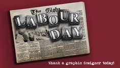 Labour Day: Thank a Graphic Designer! Labor Day Origin, Labour Day, Long Holiday, Work Week, Origins, Duke, Creative Design, Toronto, Blood