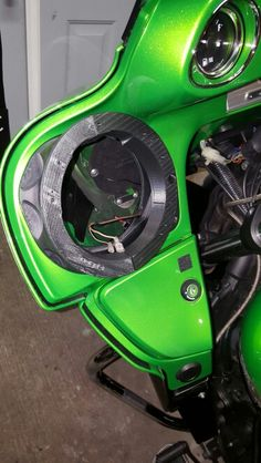 Kawasaki Vaquero Speaker Upgrade