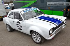 Ford Escort Mk1 - 550 Greg Barlow Escort Mk1, Ford Escort, Ford Motor Company, Sports Car Racing, Race Cars, Mk 1, Ford Classic Cars, Bmw E30, Vintage Race Car