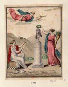 French Revolution Digital Archive: [Buste de Bonaparte couronné de lauriers par l'Abondance] [estampe] Painting, Art, Abundance, Printmaking, Art Background, Painting Art, Kunst, Paintings, Gcse Art