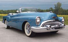 1953 Buick Skylark Convertible #BuickRoadmasterConvertible #winddeflector #windscreens http://www.windblox.com/