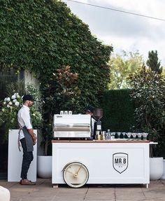 Espresso bar for espresso martinis via Emma Clapham