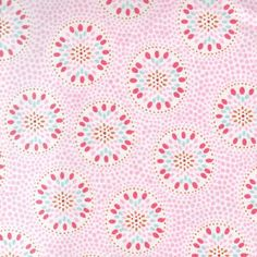 New Arrivals Fabric by the Yard Pinwheel Pink @Sarah Chintomby Chintomby Chintomby Nasafi Grayce