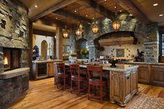 Terrific Kitchen!  SBC Builders, Bozeman, Montana