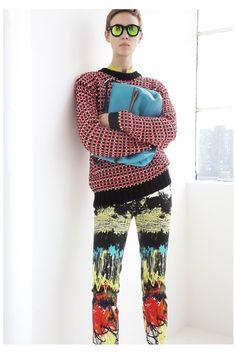 Cédric Charlier Resort 2014 Fashion Show - Marike Le Roux