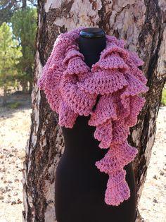 Crochet pattern scarf pattern ruffle scarf pattern unique scarf chunky crochet ruffle scarf easy fast pattern by lyubava crochet dt1010fo