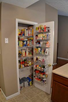 small pantry shelving systems photo - 3 & Amazon.com: Rubbermaid FastTrack Pantry Kit White (FG3R16FTWHT ...