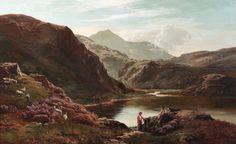 Sidney Richard Percy - 'Loch Scavaig, Isle of Skye'