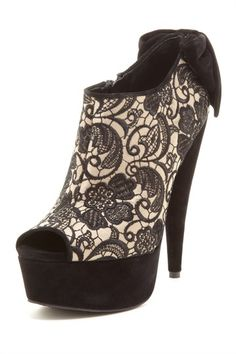 Jessica Simpson Raurie Peep Toe Bootie by Falling For Shoes on @HauteLook