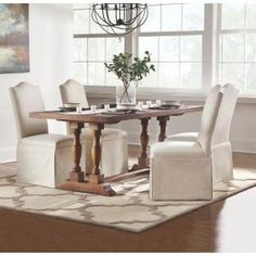 Home Decorators Collection Preston 30 in. Mango Wood Cafe Dining Table 6171900910 at The Home Depot - Mobile