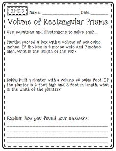 Common Core Math {Outside of the Box} - 5th Grade Edition. Open-ended math pages.
