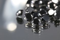 Black Diamonds JUWELO #black #diamond #gemstone #mode #fashion #inspiration