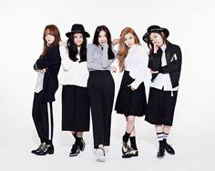 Korean girl group The Ark The Light concept photo