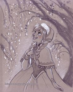 Original Art  Anna by briannacherrygarcia on Etsy