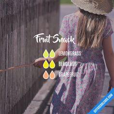Fruit Snack - Essential Oil Diffuser Blend