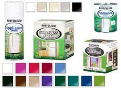 HOME DZINE Kitchen | Paint your appliances