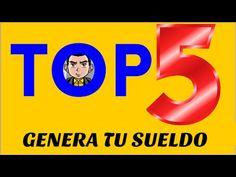 Top 5 Mejores Páginas Para Ganar Dinero   Ganar Dinero Por Internet   Co...